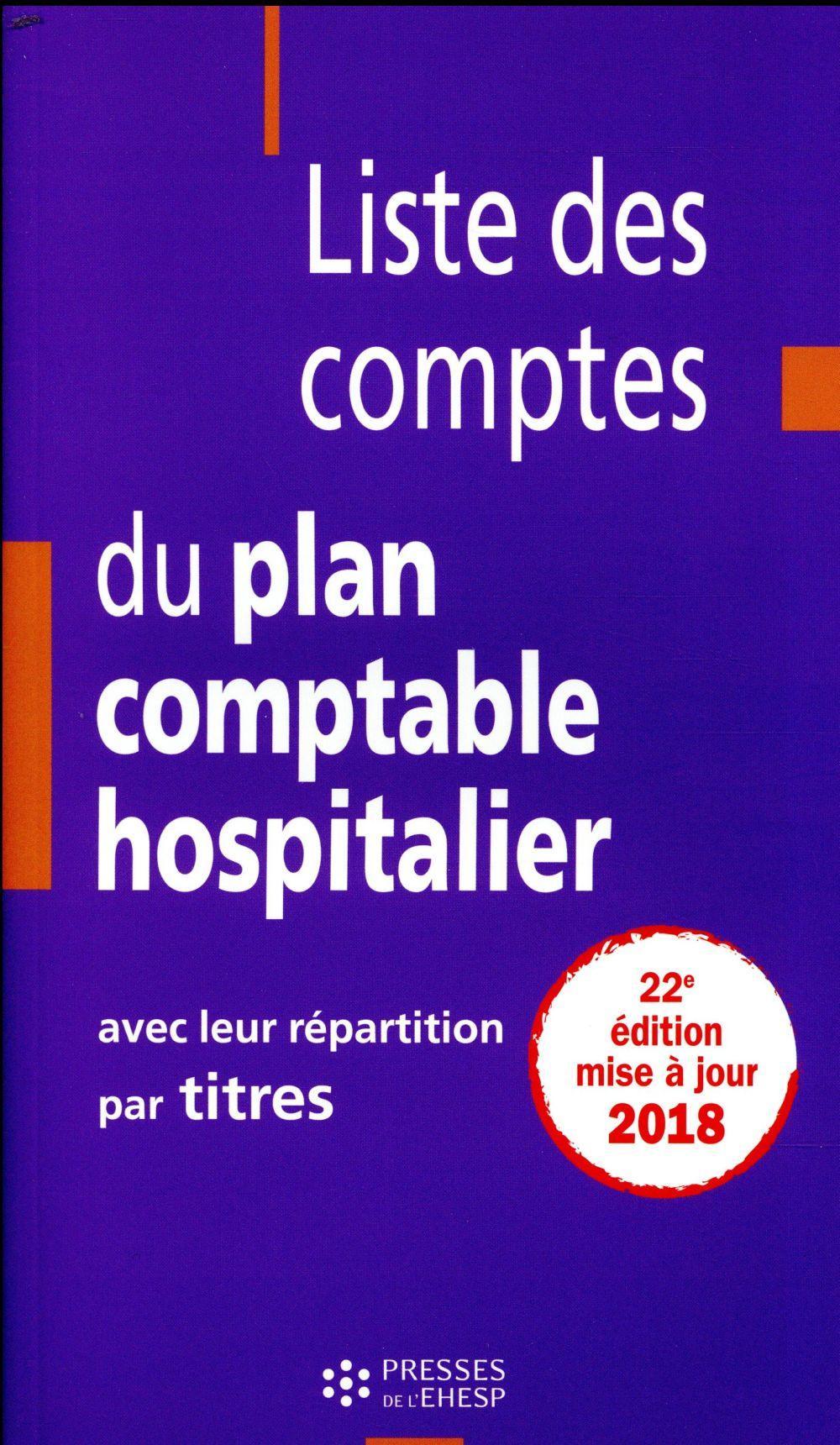 Liste Des Comptes Du Plan Comptable : liste, comptes, comptable, Liste, Comptes, Comptable, Hospitalier