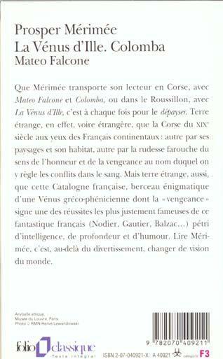 Resume La Venus D Ille : resume, venus, Resume, Mateo, Falcone, Merimee