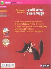 Le Petit Buveur D'encre Rouge : petit, buveur, d'encre, rouge, Petit, Buveur, Encre, Rouge, Éric, Sanvoisin