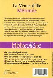 Resume La Venus D Ille : resume, venus, Vénus, D'Ille, Prosper, Mérimée, ACHETER, OCCASION, 15/09/1999