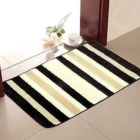 kitchen rugs amazon designing a pauwer 厨房地毯防滑可水洗脚垫厨房地毯吸水浴室地毯适用于浴室现代深棕 厨房地毯防滑可水洗脚垫厨房地毯吸水浴室地毯适用于