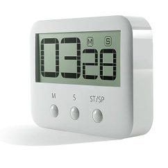 Digital Kitchen Timers Aid Ranges Pingko 数字厨房计时器 大数字 大声警报 磁性背衬 支架 倒数和倒数