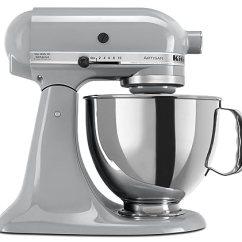 Kitchen Splash Guard Tiny Appliances Kitchenaid厨房帮手ksm150psmc Artisan系列5夸脱台式搅拌机带防溅罩金属