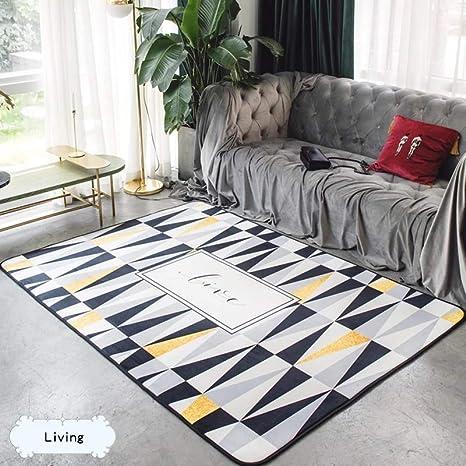 kitchen rugs amazon grey wood table 北欧地毯卧室客厅门垫满铺可爱房间床边茶几沙发办公室长方形地垫45 120 北欧地毯卧室客厅门垫满铺可爱房间床边茶几沙发办公室长方形
