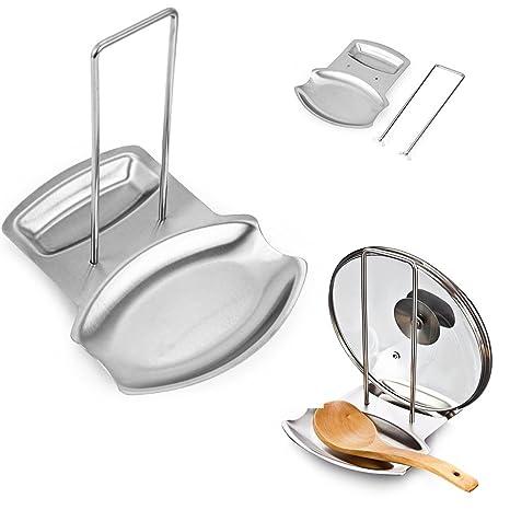 kitchen spoon rest 60 inch sink base cabinet beiniu 平底锅pot 覆盖盖子机柜stand 勺子支架不锈钢勺子休息厨房配件