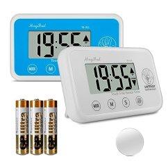Digital Kitchen Timers Exhaust Repair 数字厨房计时器 传感器烹饪计时器count Up Countdown 大数字 大声警报