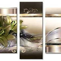 Framed Prints For Kitchens Kitchen & Bath 帆布墙壁艺术花朵艺术印刷品现代墙壁装饰5板画大号家居装饰适用于卧室 帆布墙壁艺术花朵艺术印刷品现代墙壁装饰5板画大号家居装饰