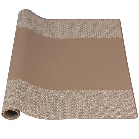 amazon kitchen mat faucets with sprayer 餐桌垫 防污硅胶桌垫 防水厨房垫 耐热硅胶烘焙垫咖啡色 bakingfun 耐热硅胶