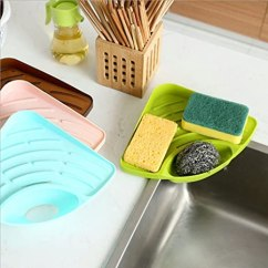 Delta Kitchen Sinks Brick Backsplash For 厨房多功能三角沥水架 三角形厨房置物架水槽沥水架加厚塑料收纳架沥水篮 三角形厨房置物架水槽沥水架加