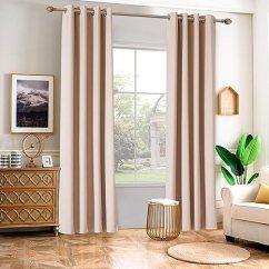 Kitchen Curtains For Sale Island Table With Granite Top Temnetu 遮光隔热窗帘板用于卧室 房间变暗索环窗帘适用于客厅 厨房 2 房间变暗索环窗帘