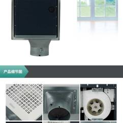 Broan Kitchen Exhaust Fan Drano For Sink 美国broan 百朗超静音换气扇卫生间排气扇厨房静音大功率低噪音fe E080 3 Jpg