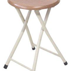 Chairs Kitchen Backsplash Tile 武田公司 折叠椅 管椅 椅子 厨房椅 折叠椅自然色30 30 46 5cm