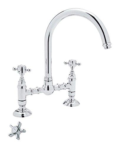 rohl kitchen faucet redesign my a 1411 1461 x 2国家厨房桥水龙头带five spoke 手柄