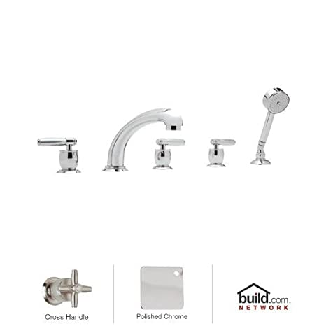rohl kitchen faucet wood cabinets a 1411 mb1949 x m michael berman triple 手柄落地式浴缸水龙头带 手柄落地式浴缸水龙头带手持花