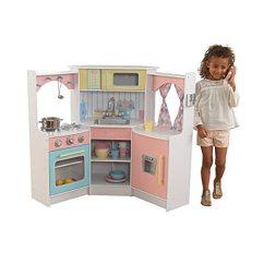 Kidkraft Toy Kitchen Cabinet Depot 儿童厨房玩具套装 白色 玩具 亚马逊中国 海外购美亚直邮