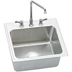 Elkay Kitchen Sinks Waterstone Faucets 第13页 水槽比价选购 水槽推荐哪个好 慢慢买手机版 Dlh222210c 18 规格55 88 厘米x 55 26 67 厘米单碗顶安装