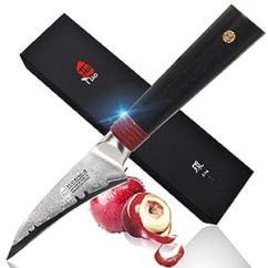 Cool Kitchen Knives Server Tuo 刀具鸟类削皮器6 35 厘米 大马士革厨房刀 日本aus 10 Hc 不锈钢 水果刀 雕花刀