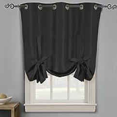 Grommet Kitchen Curtains Industrial Lighting 200元左右的窗帘 窗纱推荐 品牌销量排行 慢慢买手机版 Royal Hotel Soho 索环遮光窗帘板 纯色图案黑色42