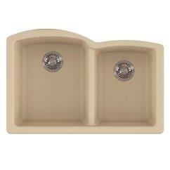 36 Inch Kitchen Sink Remodeling Silver Spring Md Franke Elg160ony 椭圆花岗岩底双碗厨房水槽 玛瑙 家居装修 亚马逊中国