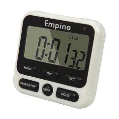 Digital Kitchen Timers Rohl Faucet Empino 24 小时数字厨房计时器时钟烹饪计时器倒数多功能带大数字 响亮 小时数字厨房计时器时钟烹饪计时器倒数多功能带