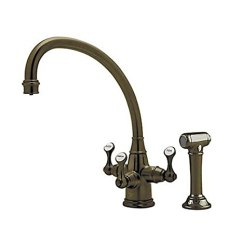 Rohl Kitchen Faucet Modern Round Table U 1520ls Eb 2 Perrin 和rowe 系列三角流技术过滤传统etruscan 3 杠 系列三角流技术过滤
