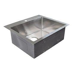 Deep Kitchen Sink Changing Hinges On Cabinets Franke Vector 63 5 厘米双安装单碗1 孔22 86 厘米深厨房水槽 带快速