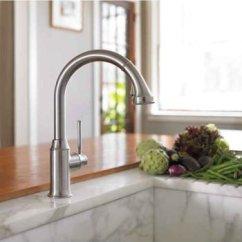 Hansgrohe Talis C Kitchen Faucet Cabinets Seattle 汉斯格雅04492800 Higharc 厨房水龙头 钢制optik