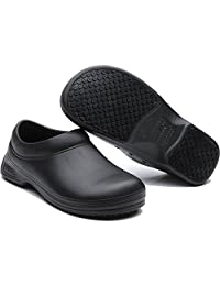 kitchen safe shoes pantry ideas 安全鞋 男鞋 鞋靴 亚马逊 wako滑克厨师鞋防滑安全鞋厨房