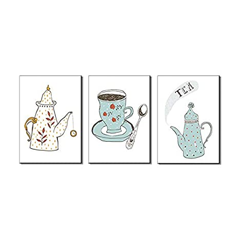 kitchen art prints oak cabinet pangoo 3 件套厨房墙壁艺术装饰无框油画印刷品画布厨房装饰a 12x16 件套厨房墙壁艺术装饰无框油画印刷品画布厨房装饰