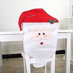 Kitchen Chair Slipcovers Bistro Mr Mrs 圣诞老人圣诞厨房椅套 椅背套厨房椅套圣诞节节日节日装饰mr 椅背套厨房椅套