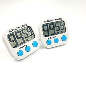 digital kitchen timers tile for floor 数字厨房计时器磁性烹饪lcd 大数羽绒清晰大声报警器 厨具 亚马逊中国 数字厨房计时器