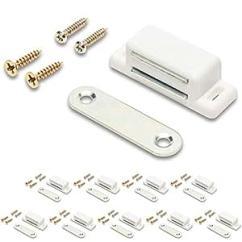 Kitchen Cabinet Latches Dark Walnut Cabinets 磁性橱柜渔具 橱柜磁性闩锁 百叶窗磁铁 一包10 个 Magnet Masters 已加入购物车