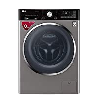 lg kitchen appliance packages aid coupons 洗衣机 烘干机 大家电 亚马逊 wd gh451b7y 碳晶银 10公斤变频蒸汽除菌全
