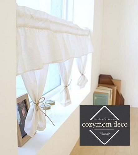 kitchen curtains amazon cheap backsplash 手工艺帷幔窗帘 厨房窗帘 家庭欧洲窗帘 棉质连体式50 宽 x110 长 棉质连体式