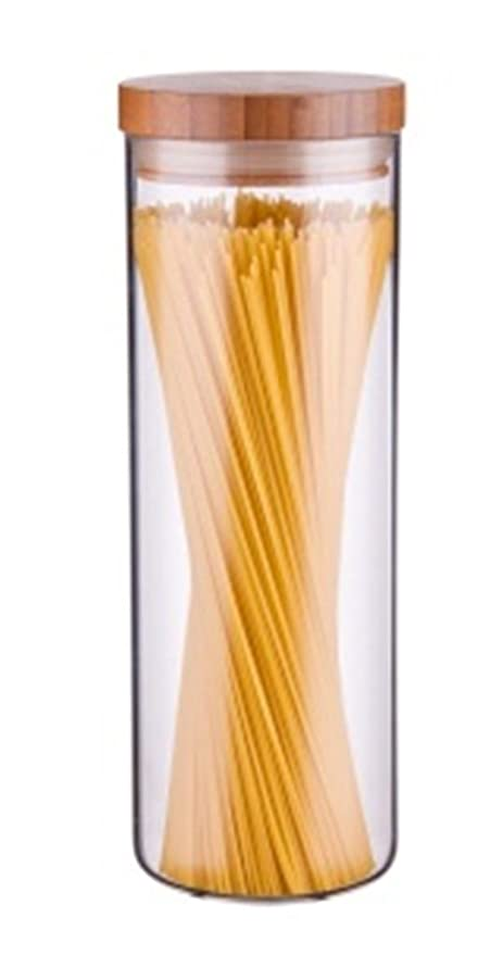 kitchen canister best hoods fairbridge 透明玻璃零食糖罐装水瓶圆形玻璃食品储存罐套装厨房罐带密封 透明玻璃零食糖罐装水瓶圆形玻璃食品储存罐套装厨房