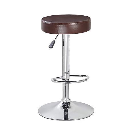 kitchen stools with backs diy outdoor kitchens on a budget kerland 圆形早餐吧凳子露背厨房台高室内 吧凳套装76 2 厘米 亚马逊中国 吧凳套装