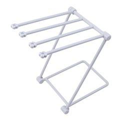 Kitchen Drying Rack Brookhaven Cabinets Savorliving 晾衣架可折叠厨房rags 架多功能桌面玻璃架折叠式洗碗布收纳 架多功能桌面玻璃架折叠式洗