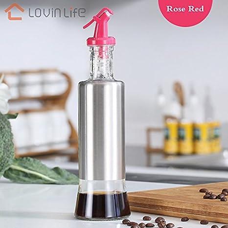 oil dispenser kitchen aid range hood lovinlife 橄榄油分配器醋瓶油瓶油瓶不锈钢厨房水瓶型号7 life 09
