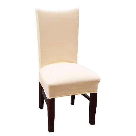 kitchen chair slipcovers cheap ideas 氨纶弹性餐椅套家庭厨房椅长毛绒保护物餐厅弹性椅套cornsilk homaxy