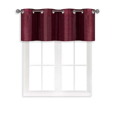 kitchen curtain sets brick backsplash 家庭queen 人造丝绸套杆层窗帘适用于小号窗口短款室内遮光厨房窗帘cafe 人造丝绸套杆层窗帘适用于小号窗口短款室内