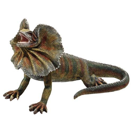19x33 kitchen sink rv unit design toscano frill necked lizard statue 绿色 亚马逊中国 厨具 海外购美亚直邮