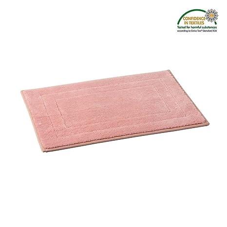 pink kitchen rug remodel ideas for small kitchens dada hometextile 超细纤维防滑垫 柔软密织毛高吸水蓬松 浴室垫厨房地毯