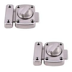 Kitchen Cabinet Latches Grohe Faucet Parts Xvl 旋转螺栓闩锁门闩锁门闩锁螺栓宠物门锁 2 件m106a 价格报价 件