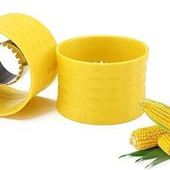 La Cornue Kitchen Cabinet Deals Cob 玉米条纹 黄色玉米切片器去角质阈值和钴玉米带工具厨房木工刀切肉机 黄色玉米切片器去角质阈值和钴玉米带工具