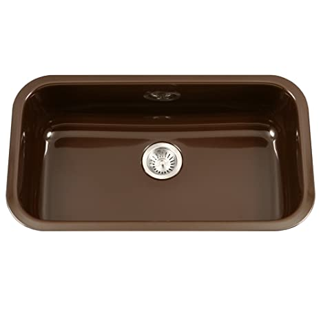 36 inch kitchen sink cheap hotels with kitchens houzer pcg 3600 es porcela 系列陶瓷珐琅钢底单碗厨房水槽 大号