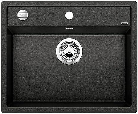 kitchen sink amazon single blanco 铂浪高dalago 6 厨房水槽 花岗岩 沥青色 单槽 514197 亚马逊 单