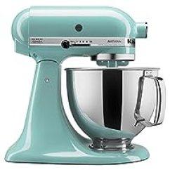 Kitchen Aid Artisan Mixer Discount Appliances Kitchenaid 凯膳怡 搅拌 榨汁 食品处理 厨房电器 小家电 亚马逊 厨房帮手工匠系列ksm150psaq 5 Qt 立式搅拌机