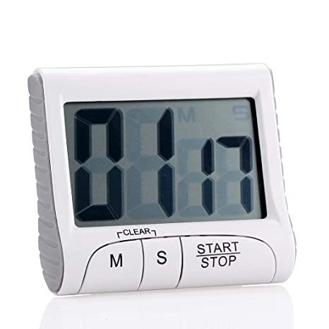 digital kitchen timers espresso table set 数字厨房计时器 烹饪计时器 count down up with on off 开关