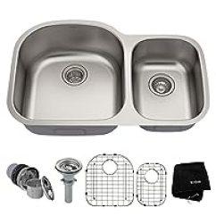 60 40 Kitchen Sink Stoves At Lowes 第47页 水槽比价选购 水槽推荐哪个好 慢慢买手机版 Kraus Kbu23 76 2 Cm Undermount 40双碗16号不锈钢