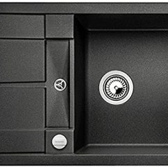 Compact Kitchen Sink Cabinet Inserts Ideas Blanco 铂浪高metra 45 S 紧凑型厨房水槽 Silgranit Puradur花岗岩水槽